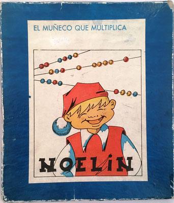 """Tapa de la caja de NOELÍN, versión española de """"The Educated Monkey"""""""