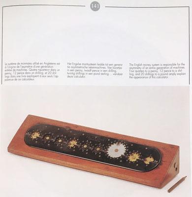 Los ábacos de círculos, diseñados para la suma de monedas, están incluidos en el estudio realizado en el libro