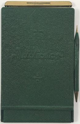 Ábaco de ranuras ADIATOR MAXIMATOR con Valoret, s/n 233416, hecha por Addiator Gesellschaft en Berlin (Alemania), año 1929, 10.5x17.5 cm