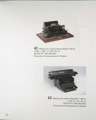 Página 145 del catálogo: calculadora mecánica Brunsviga