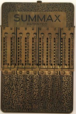 SUMMAX, sin s/n, hecha por Wilhelm Lampadius GmbH en Leipzig (Alemania), posición de resta