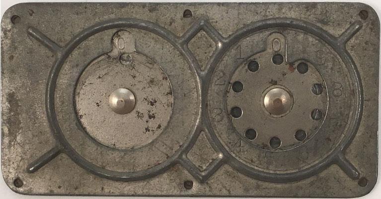 Sumadora de contabilidad tipo STEPHENSON, sin marca, 9x4.5 cm