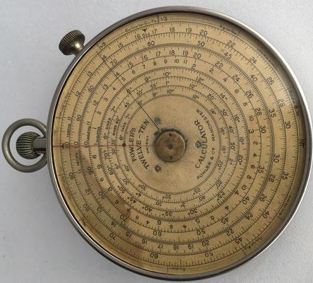 FOWLER'S TWELVE-TEN, Manchester, 8,5 cm diámetro