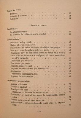 Índice del Manual Práctico de CÁLCULOS ABREVIADOS, 2ª parte: problemas y aplicaciones prácticas