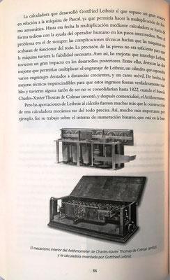La calculadora de Leibniz era una mejora de la Pascalina de Blaise Pascal