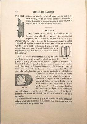 Página 44 del folleto. Publicado simultáneamente en Madrid, Scranton, Buenos Aires, La Habana, Méjico, Lima, Santiago Chile, Bogotá, Sao Paulo