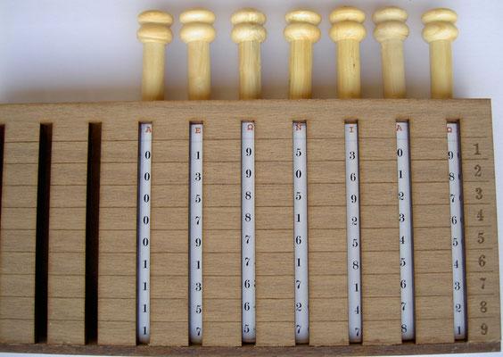 Ejemplo de funcionamiento de los Rodillos de FILIPOWSKI: múltiplos del número 195.309