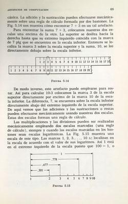 Diseño de la regla de cálculo como herramienta para la suma