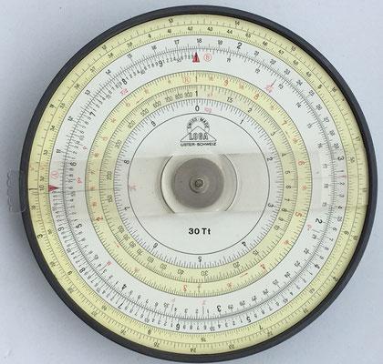 LOGA 30 Tt Scholar 2, año 1959, 12 cm diámetro
