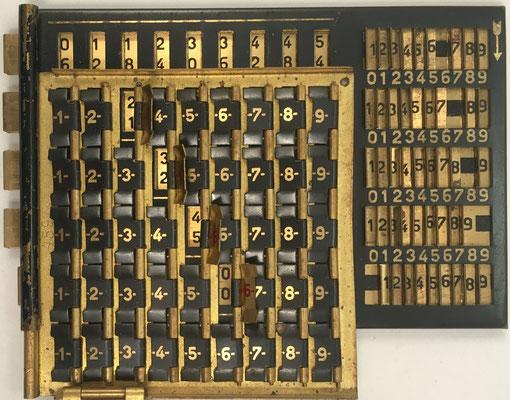Su funcionamiento es similar a La MULTI francesa y permite realizar multiplicaciones complejas de forma directa