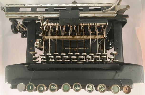 Con mecanismo totalizador WAHL para realizar sumas y restas, y tabuladores