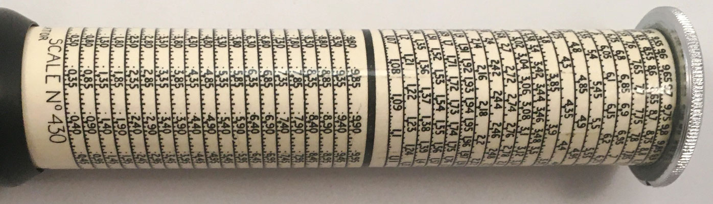 Escala nº 430, Otis King's Poket Calculator