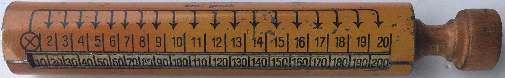 Multiplicador MULTIFIX, fabricado en Alemania, 11 cm largo x 1,5 cm diámetro