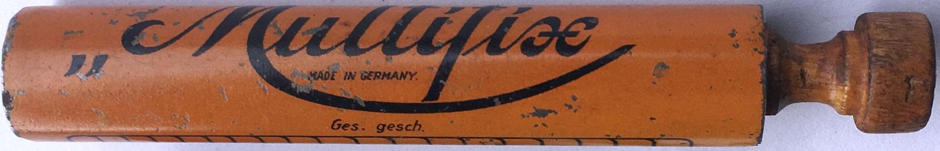 """Capacidad de productos hasta 10x20. Ges. gesch. (gesetzlich geschützt), """"protegido por ley"""""""