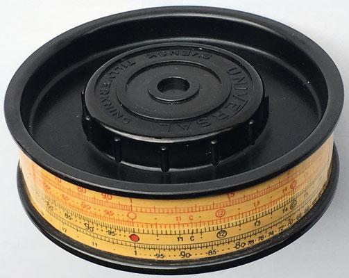 Cilindro de cálculo UNIVERSAL, 8 cm diámetro,  (precio estimado: 250€)