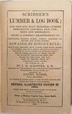 El libro está especialmente dirigido a constructores de barcos y embarcaciones, comerciantes de madera, aserraderos, granjeros y mecánicos