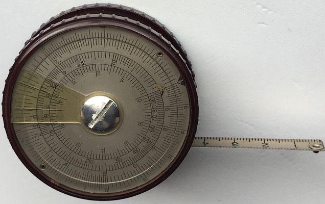 Metro-círculo de cálculo HEINRICH KÖHLER, 5,5 cm diámetro