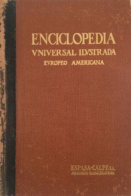 ENCICLOPEDIA Universal Ilustrada Europeo-Americana, Espasa-Calpe, José Espasa e Hijos Editores, tomo 10, 1367 páginas, año 1911, 18x25 cm