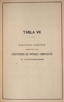 Tablas para el cálculo de interés compuesto y anualidades