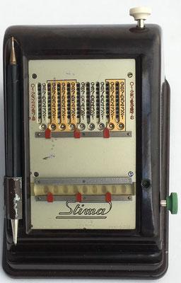 Abaco de cadena STIMA 1, hecha en Suiza, s/n 25957, año 1938, 20x15x12 cm