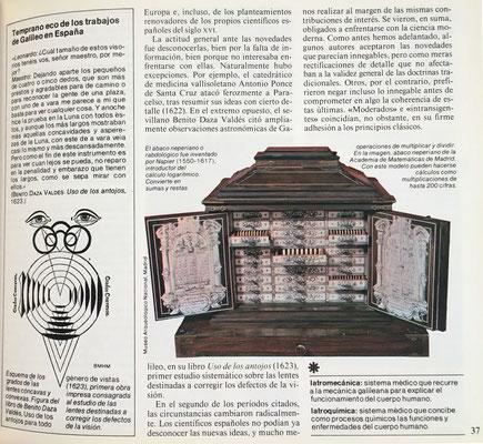 Estudia el segundo ábaco de Napier, el promptuario neperiano para multiplicación, del que se guarda un ejemplar único en el Museo Arqueológico Nacional de Madrid