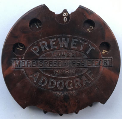 PREWETT ADDO-GRAF, hacia 1939, 7,5 cm diámetro