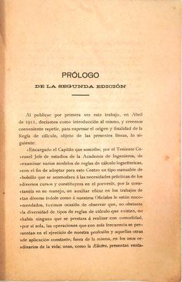 Como prólogo de esta 2ª edición, Nicomedes Alcayde repite el correspondiente a la 1ª, como indica en el primer párrafo