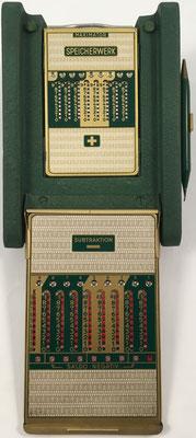 Ábaco de ranuras MAXIMATOR-S, s/n 226207, subtraktion y acumulador