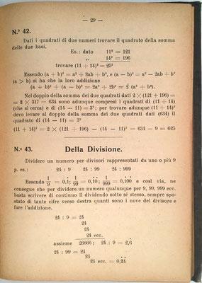 Los métodos explicados utilizan tabla con resultados de números, sus cuadrados y sus inversos