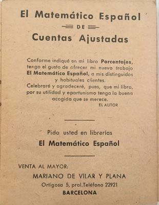 El libro EL MATEMÁTICO ESPAÑOL de Cuentas Ajustadas está indicado para resolver todas las operaciones de compra-venta