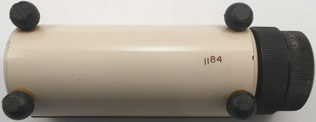 Vista inferior del STERLICON  5, con su número de serie