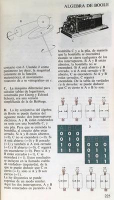La máquina Diferencial para calcular tablas de logaritmos de George y Edvard Scheutz era una versión simplificada de la de Babbage