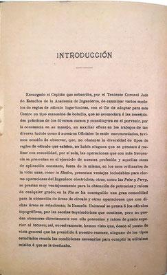 En la introducción del libro, el propio Nicomedes Alcayde explica cómo y por qué ideó una nueva regla de cálculo