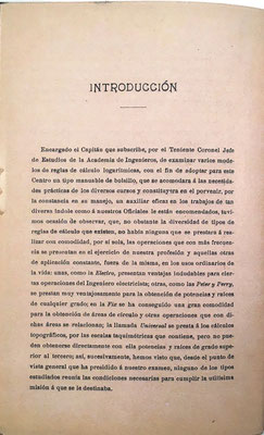 En la introducción del folleto , el propio Nicomedes Alcayde explica cómo y por qué ideó una nueva regla de cálculo