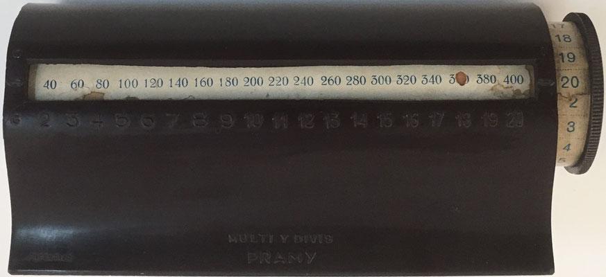 Cilindro multiplicador marca PRAMY Multi y Divis, 17x7x7 cm