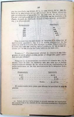 En estos ejemplos se resaltan los dos movimientos de la máquina: Preparatorio y Operatorio