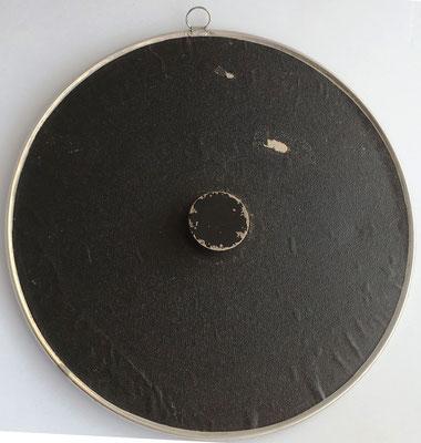 Reverso círculo de cálculo TRÖGER, modelo sin cursor, D.R.G.M. 227046