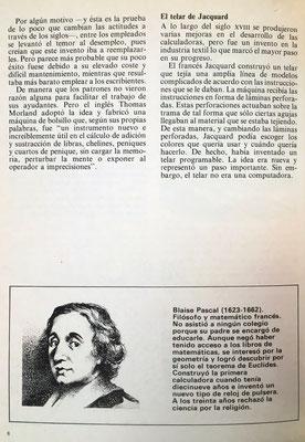 Dibujo de Blaise Pascal quien, a los 19 años, inventó una máquina mecánica que recibiría posteriormente el nombre de Pascalina