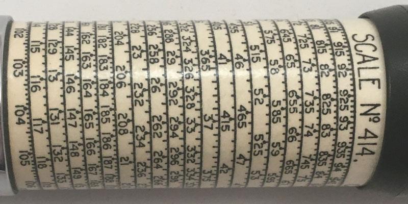 Escala nº 414, Copyright, Otis King's Patent nº 183723