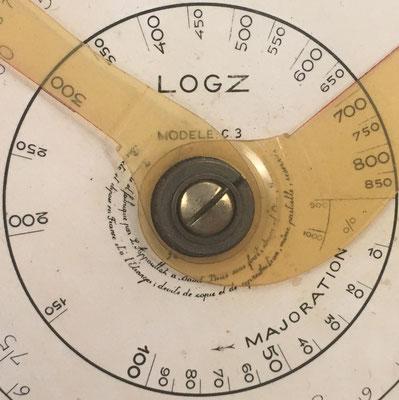 LOGZ modelo C3, inventado y fabricado por L. Appoullot