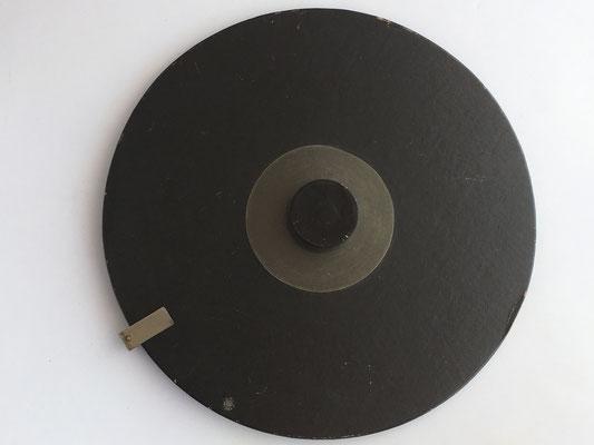 Reverso círculo de cálculo TRÖGER, modelo 1 (37/393/6004), Gesetzlich geschützt (patentado)