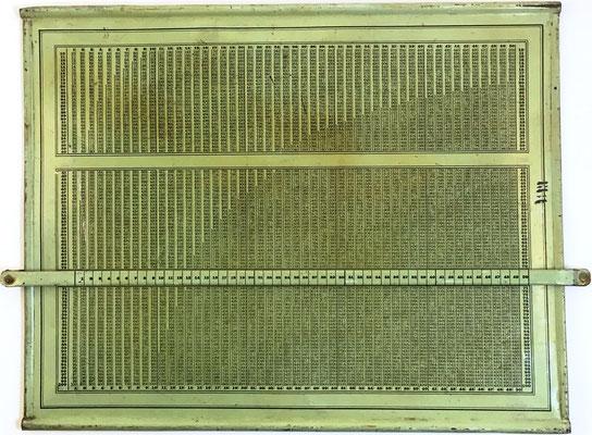 Tabla para Multiplicación, sin marca, Alemania, 35x28 cm
