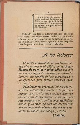 Presentación del libro al lector, por su autor D. Joaquín Pascual Soler