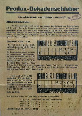 """Instrucciones de uso para el mecanismo """"Multifix"""" anverso"""
