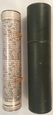 Hélice a Calcul A. LAFAY (Modèle 2), inventada por  Jean-Antoine Lafay, hacia 1921, 20 cm largo x 4 cm diámetro