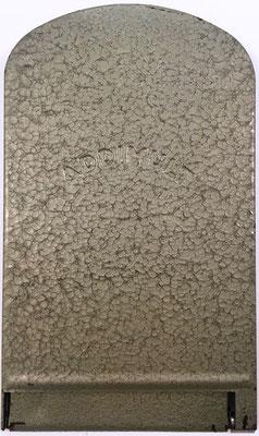 Ábaco de ranuras ADDIMULT SUMMATOR, fabricado por Addimult, s/n 671760, año 1955, 10.5x17.5 cm