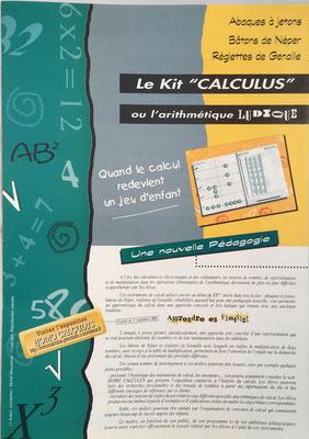 Kit Calculus para enseñanza en la escuela