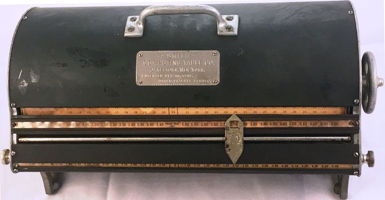 Cilindro multiplicador marca SMITH, permite productos hasta 100x2.25, año 1907, 46x23x20 cm