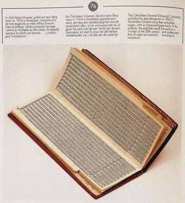 Estudia los manuales para la multiplicación que, como en este caso del Calculador Universal, iban acompañados de ábacos de ranuras para la suma de los productos parciales