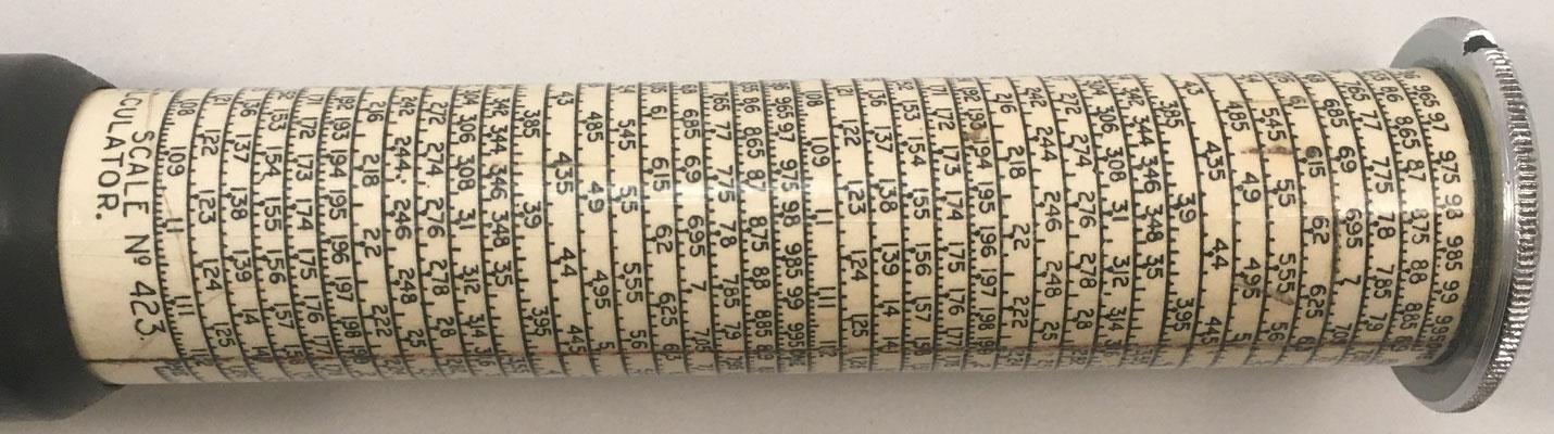 Escala nº 429, Copyright, Otis King's Poket Calculator